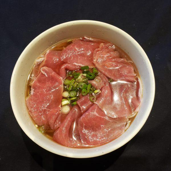 12. Rare Beef Noodle Soup