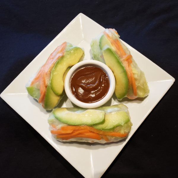 V1. Vegetarian Salad Rolls (3pc)