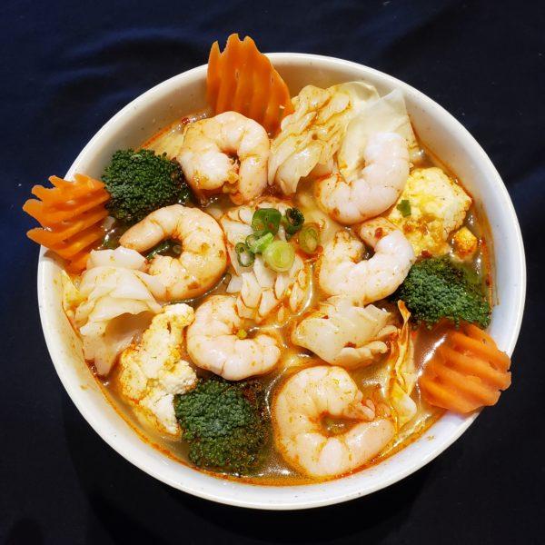 19. Satay Seafood Noodle Soup