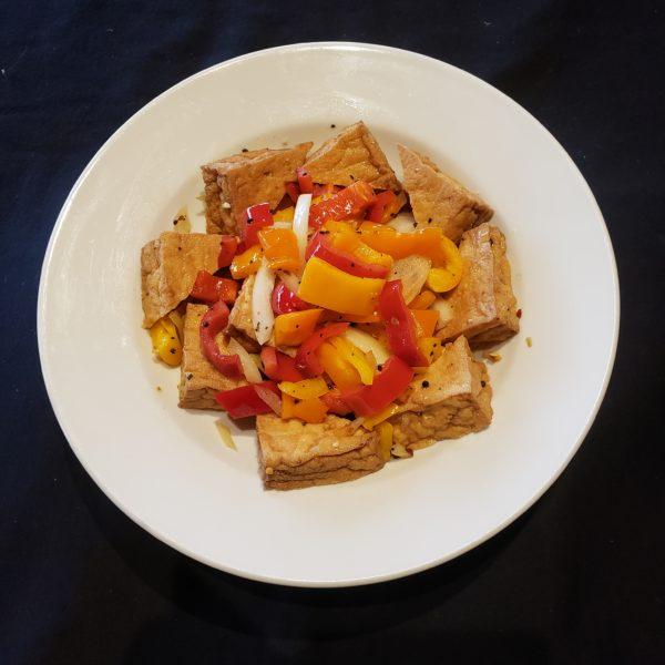 10. Deep Fried Salt & Pepper Tofu