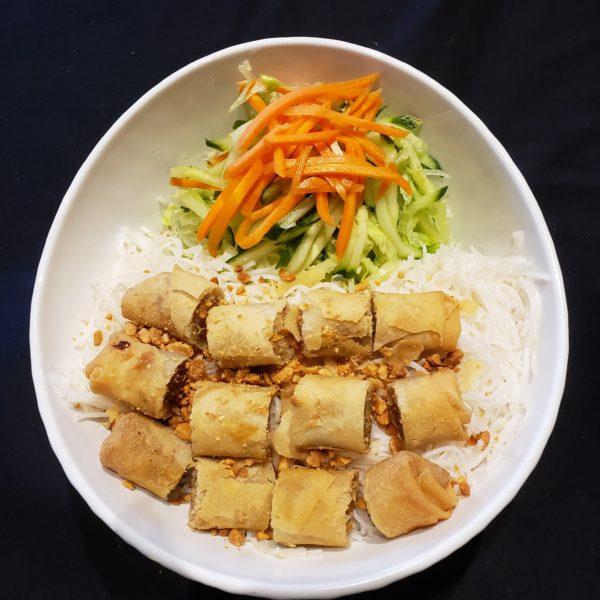 22. Vermicelli with Spring Rolls