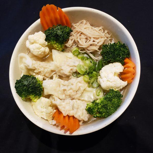 53.  Wonton Egg Noodle Soup
