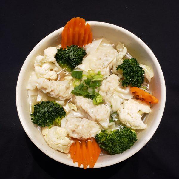 56. Chicken  Dumpling  Soup