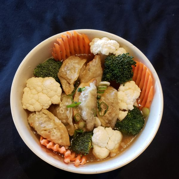 V60. Vegetable  Dumpling  Soup
