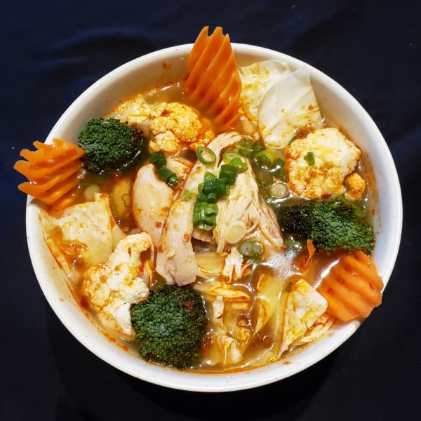 17. Satay Chicken Noodle Soup