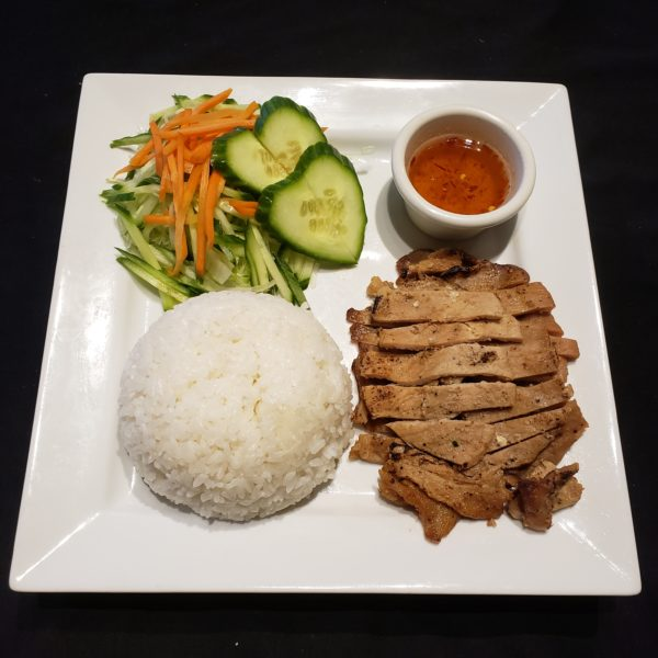 70. Charbroiled Pork with Steamed Rice