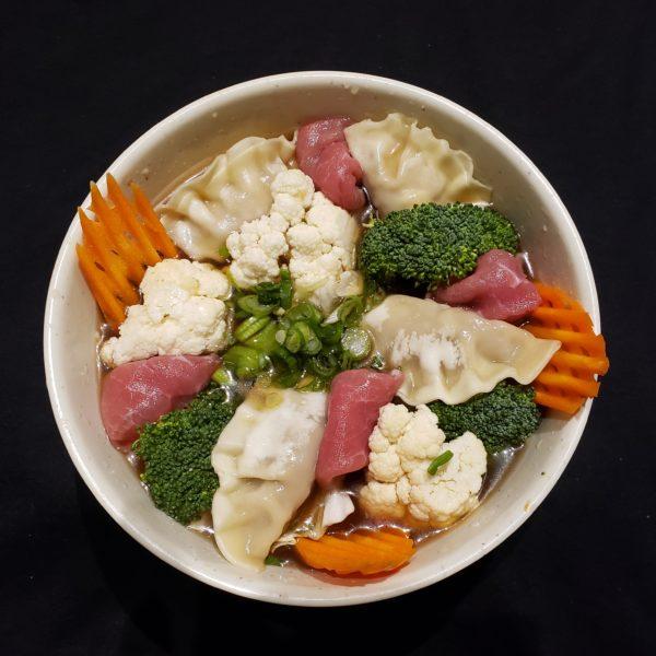 54. Beef Dumpling Soup