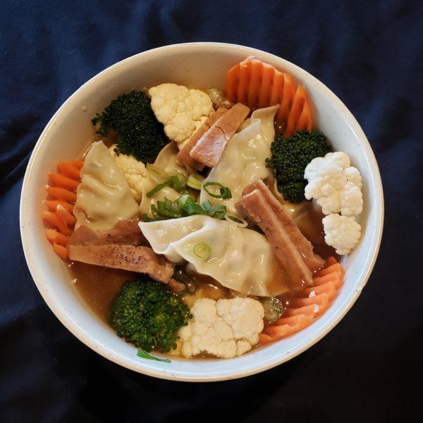 58. Pork Dumpling Soup
